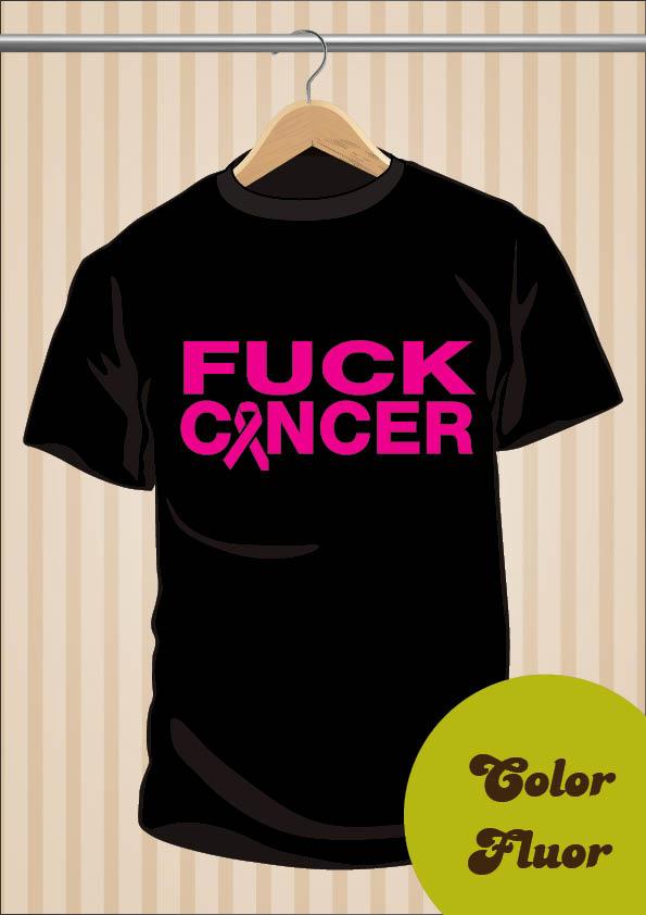 Camiseta Fuck Cancer | UppStudio