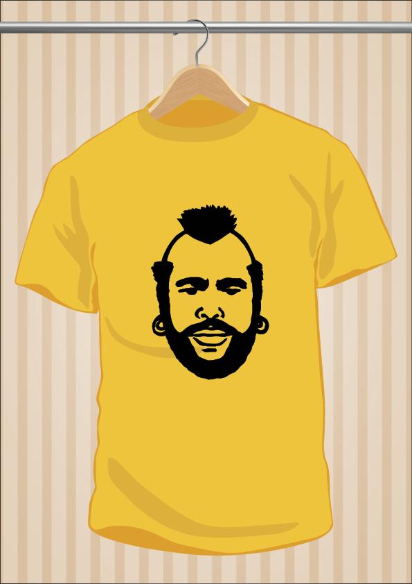 Camiseta M.A. Baracus El Equipo A