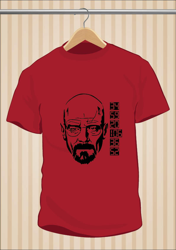 Camiseta Walter White - Breaking Bad - UppStudio