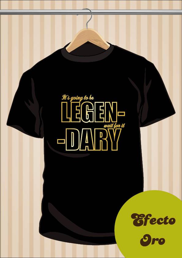 Camiseta Barney Stinson CCAVM de www.UppStudio.com