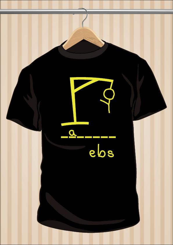Camiseta Ahorcado UppStudio Barata