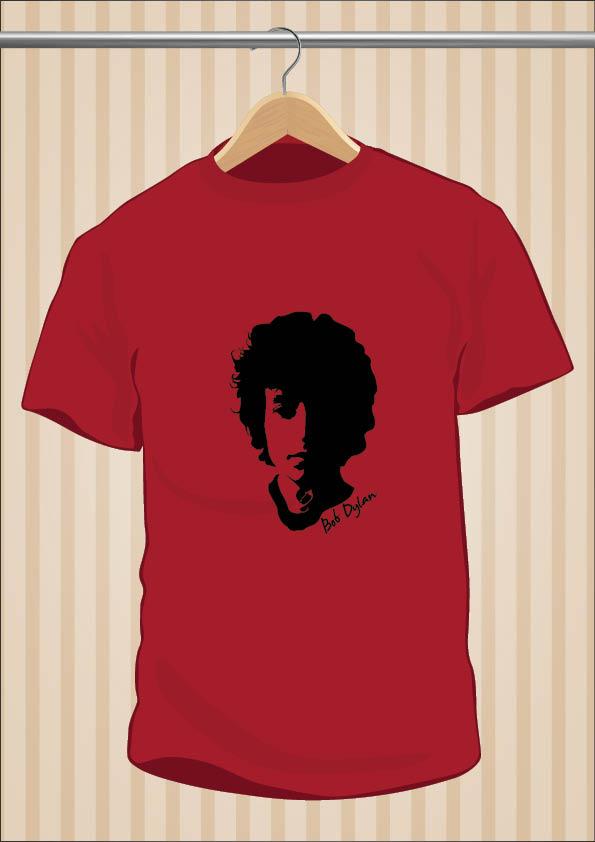Camiseta Bob Dylan Barata - UppStudio
