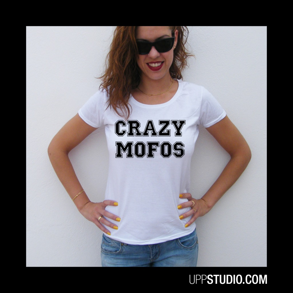 Camiseta Crazy Mofos One Direction | UppStudio