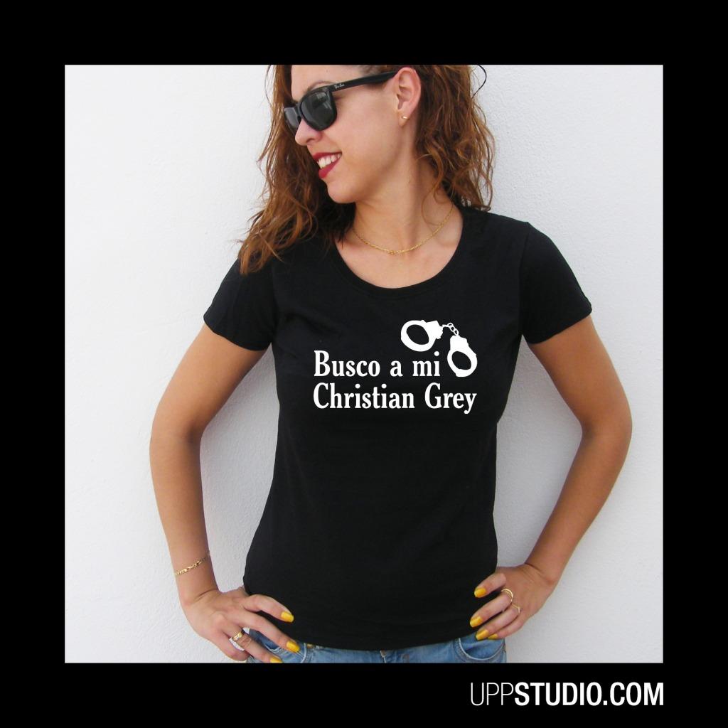 Camiseta 50 Sombras de Grey T-Shirt Tee Busco a Mi Christian Grey 50 Shades of Grey | UppStudio