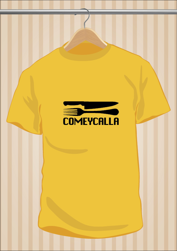 Camiseta Come y Calla - UppStudio