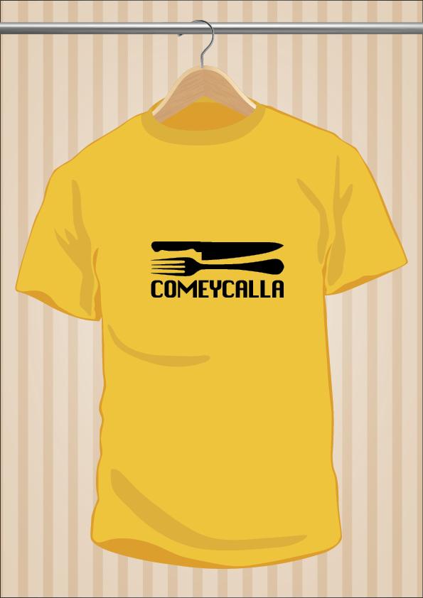 Camiseta Come y Calla - UppStudio