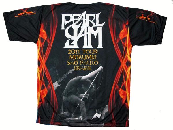 Camiseta Pearl Jam Tour 2011