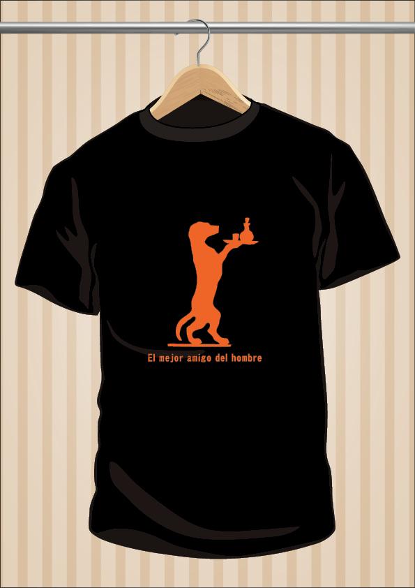 Camiseta El Mejor Amigo Del Hombre - UppStudio