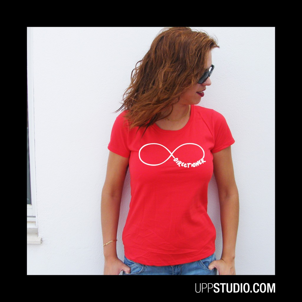 Camiseta Directioner One Direction Infinito | UppStudio