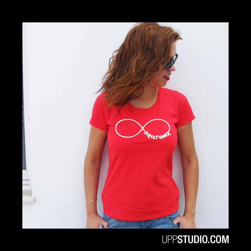 Camiseta Directioner One Direction Infinito | UppStudio