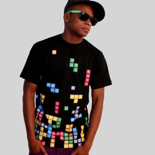 Camiseta Tetris
