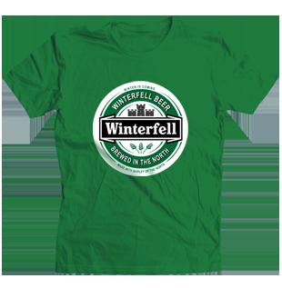Camiseta WinterFell Beer - Juego de Tronos