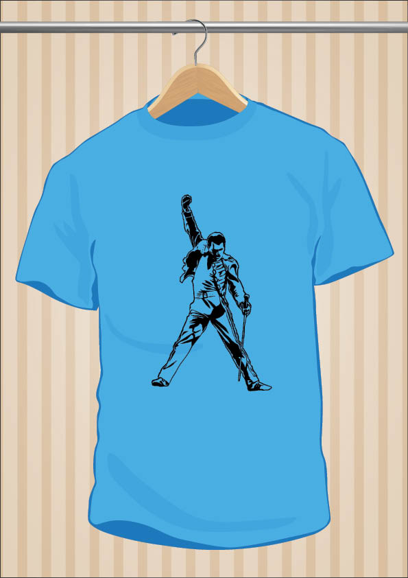 Camiseta Freddie Mercury | Queen | UppStudio