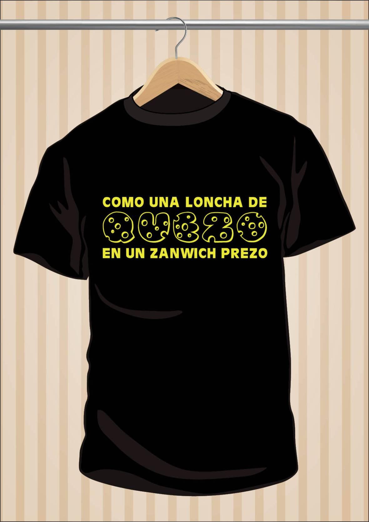 Camiseta Flos Mariae Como Una Loncha de Queso En Un Sandwich Preso - UppStudio