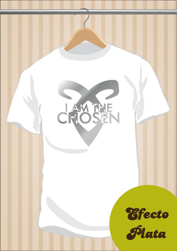 Camiseta Cazadores De Sombras I Am The Chosen The Mortal Instruments UppStudio