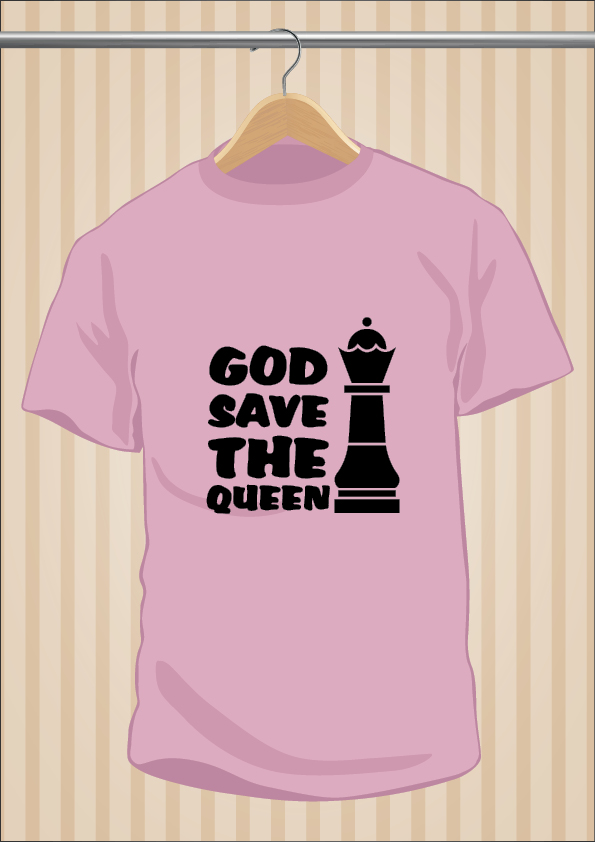 Camiseta God Save The Queen - UppStudio