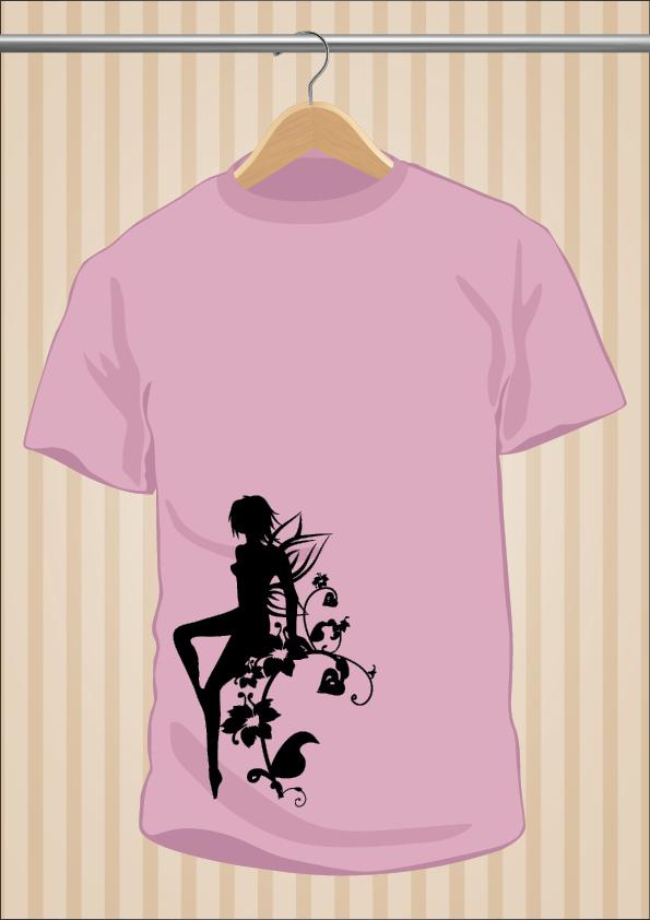 Camiseta Hada - UppStudio