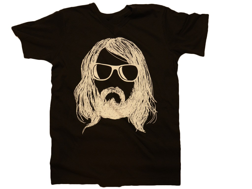 Camiseta Hipster con Barba