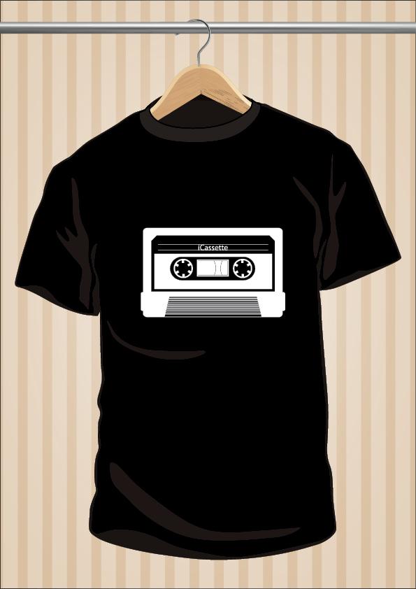 Camiseta iCassette