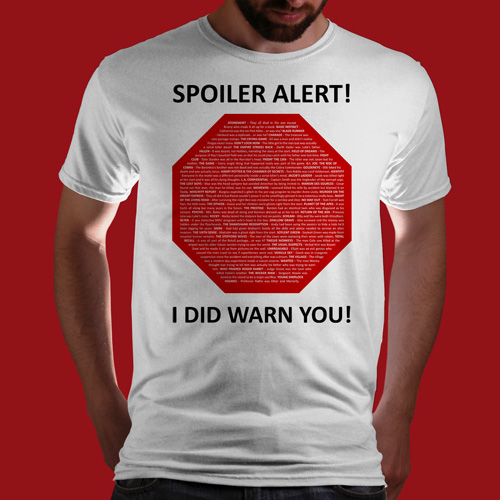 Camiseta Spoiler Alert