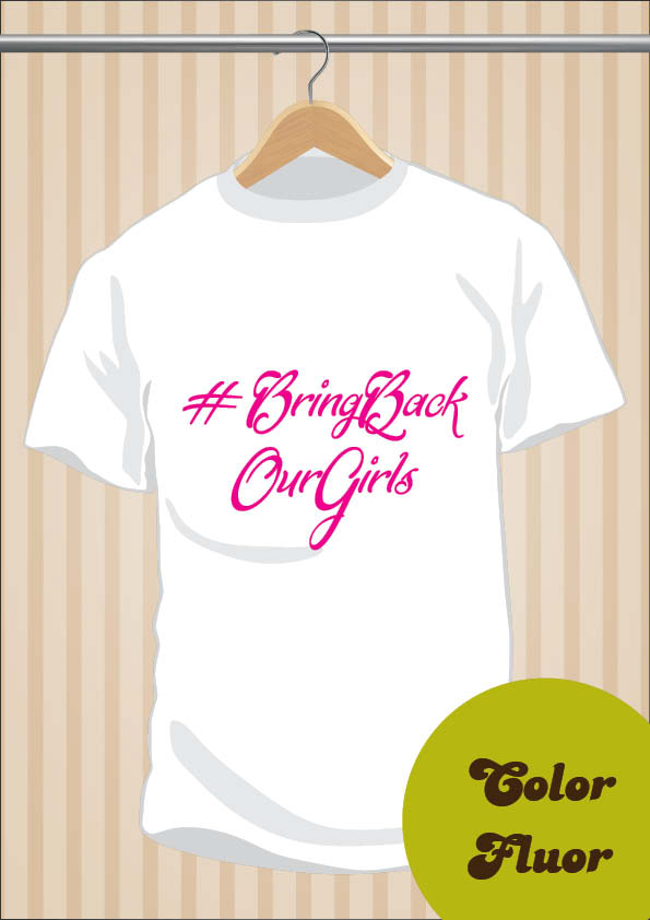 Camiseta Bring Back Our Girls | UppStudio