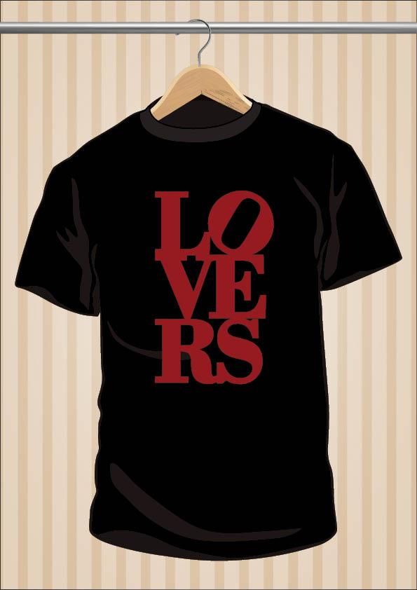 Camiseta Lovers | UppStudio