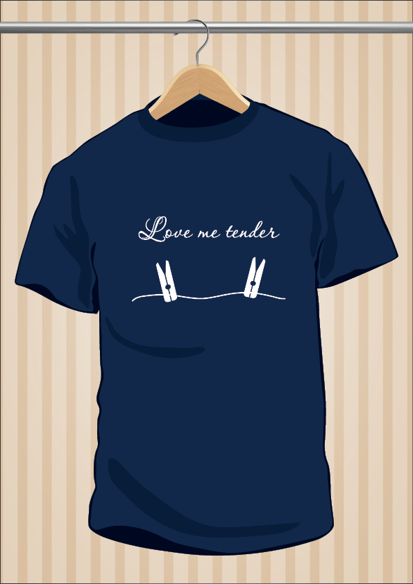 Camiseta Elvis Presley | Love Me Tender | UppStudio