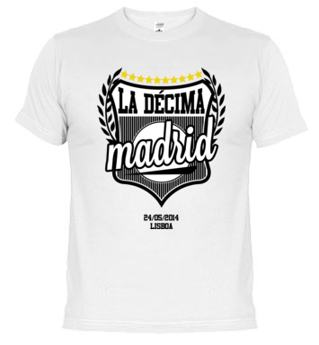 Camiseta Real Madrid | La Décima