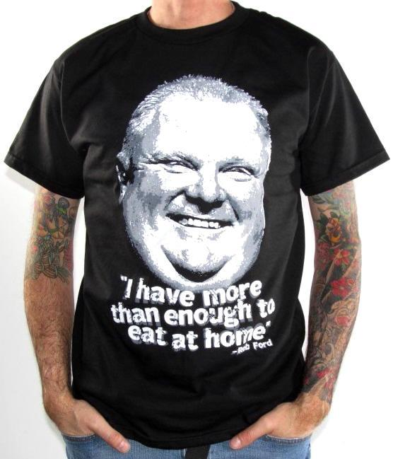 Camiseta Rob Ford