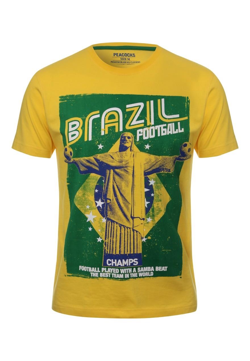 Camiseta Mundial Fútbol Brasil 2014