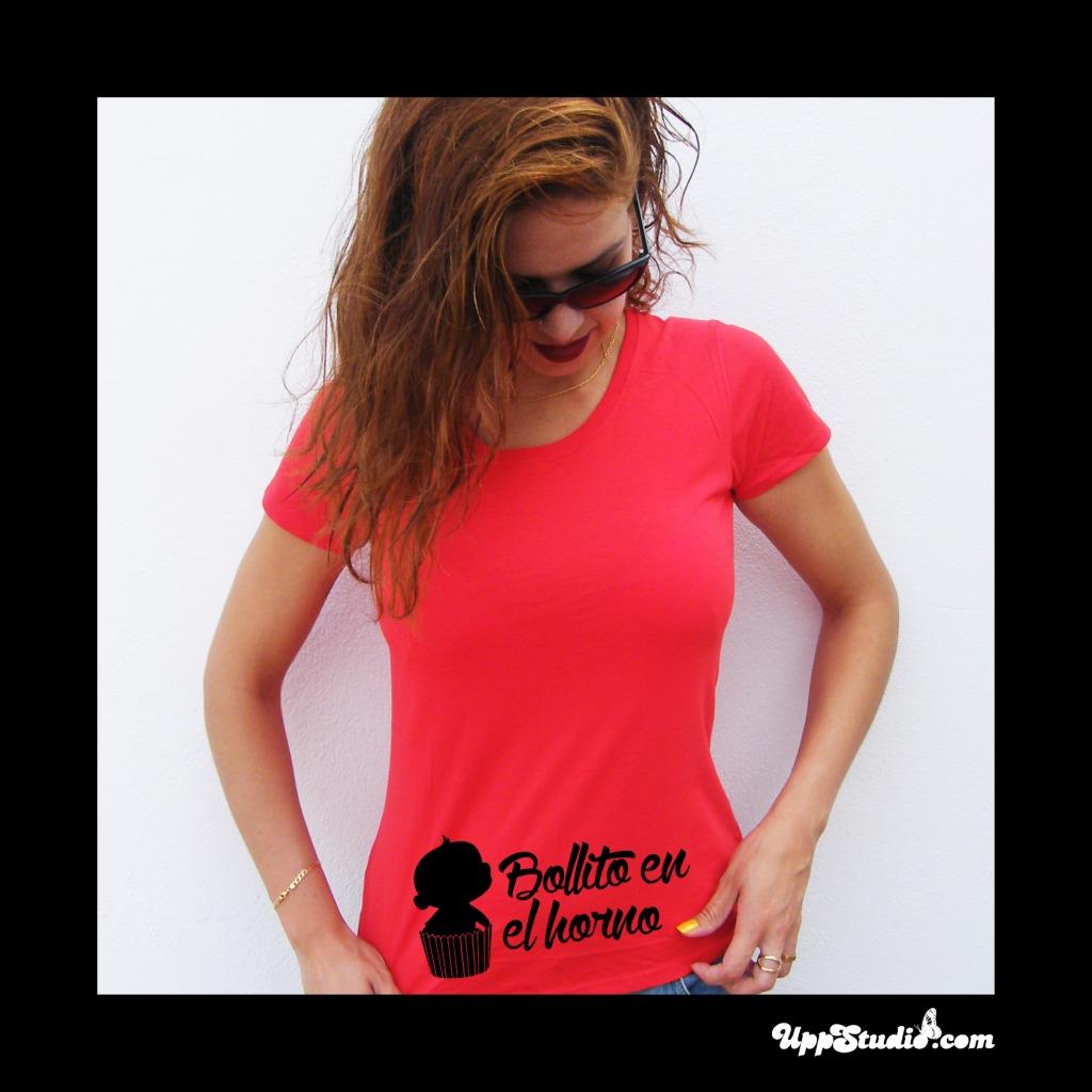 Camiseta Bollito En El Horno Regalo Para Embarazadas | UppStudio