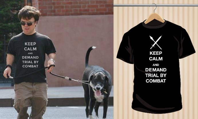 Camiseta Tyrion Lannister | Keep Calm And Demand Trial By Combat