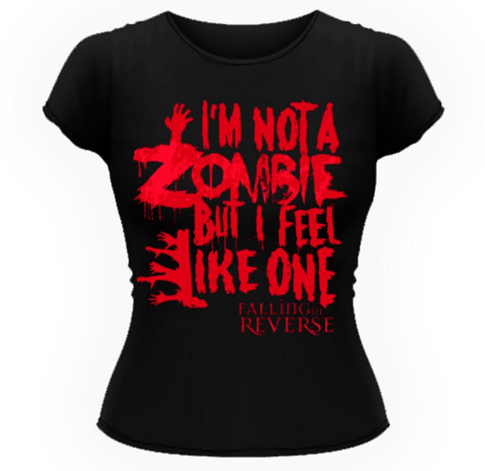 Camiseta I'm Not a Zombie But I Feel Like One