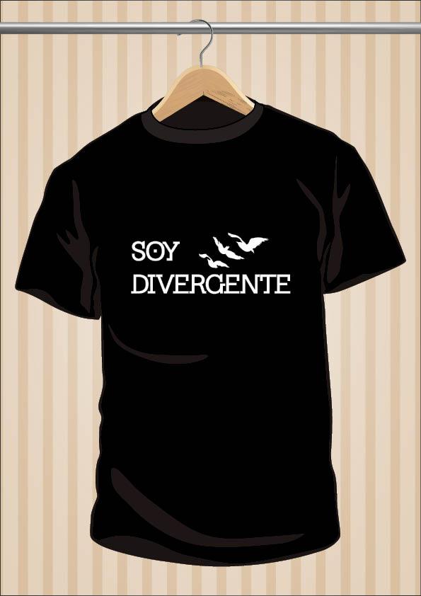 Camiseta Soy Divergente | UppStudio