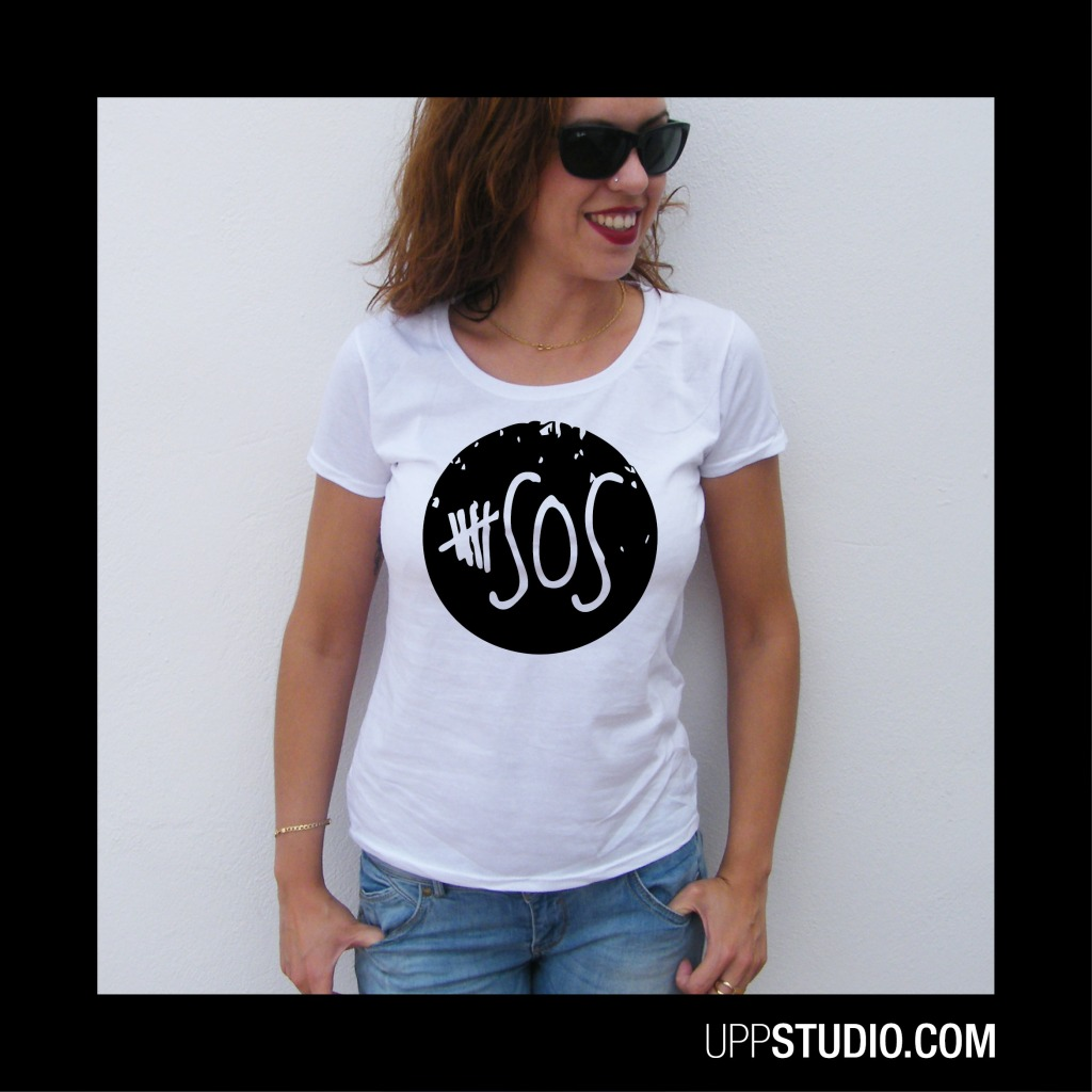 Camiseta 5SOS 5 Seconds Of Summer | UppStudio
