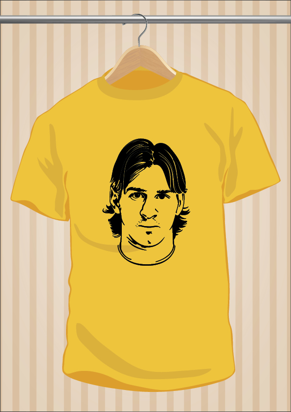 Camiseta Leo Messi | UppStudio