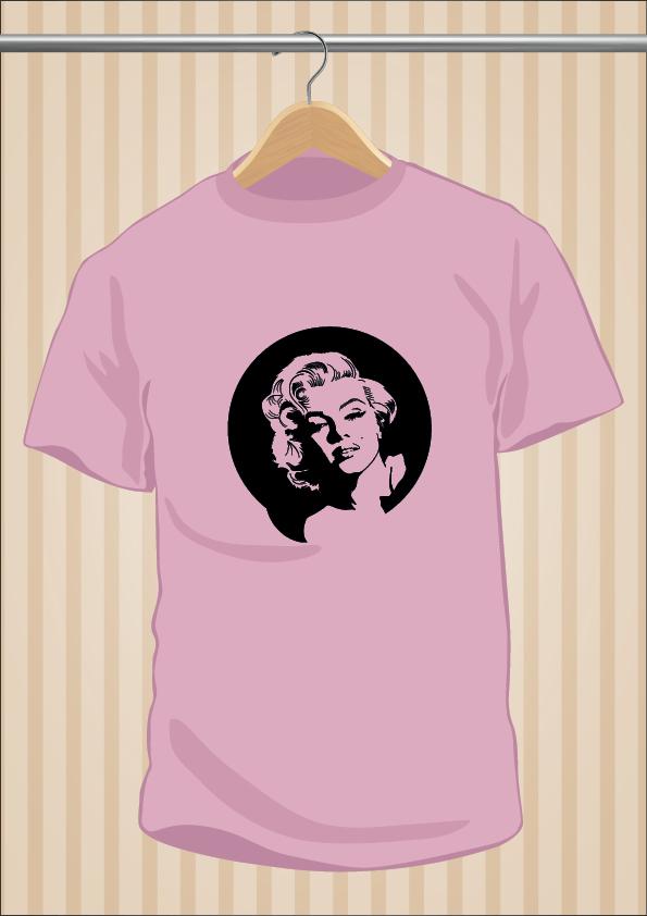 Camiseta Marilyn Monroe | UppStudio