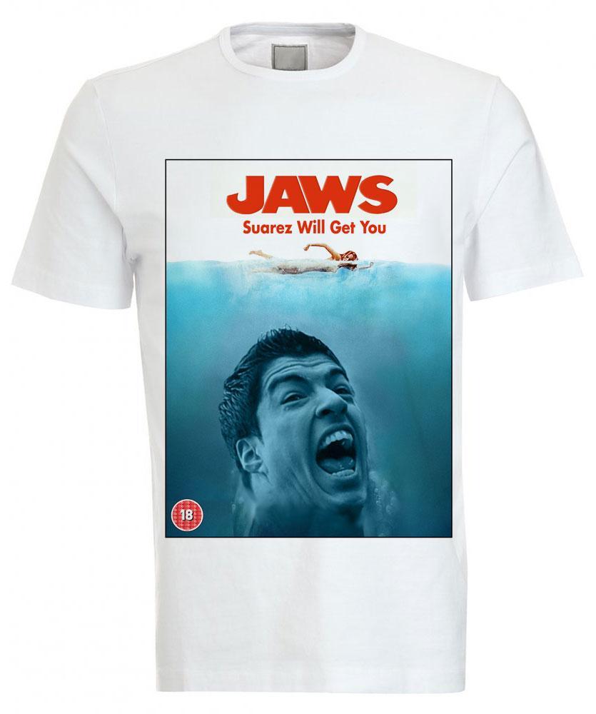 Camiseta Luis Suárez | Bocado | Tiburón