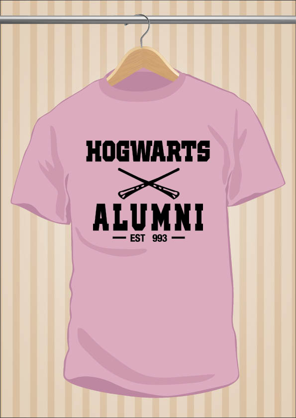 Camiseta Hogwarts Alumni | Harry Potter | UppStudio