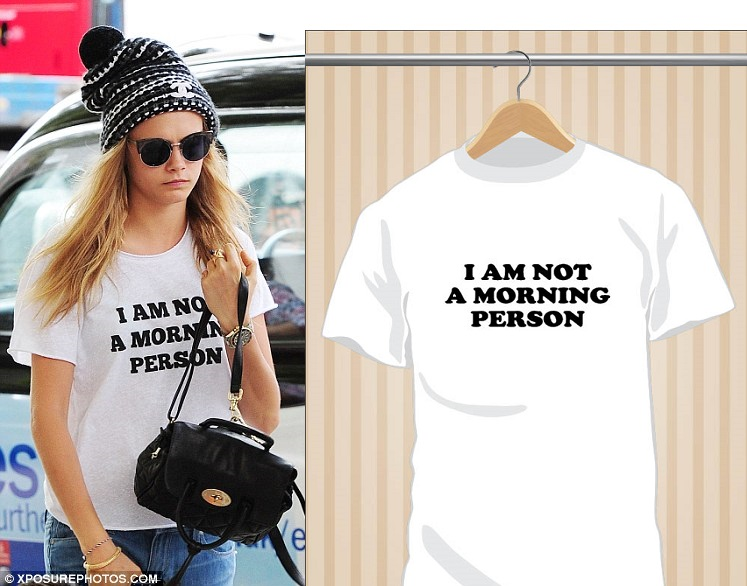 Camiseta I Am Not A Morning Person | UppStudio