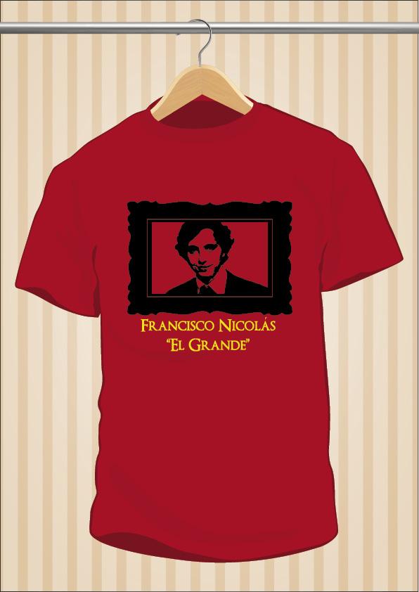 Camiseta Pequeño Nicolás El Grande | UppStudio