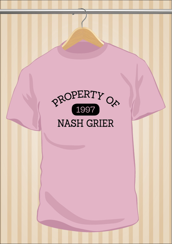 Camiseta Property Of Nash Grier | UppStudio