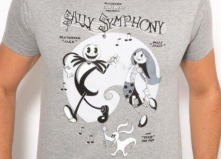 Camiseta Pesadilla Antes de Navidad | Sally Symphony