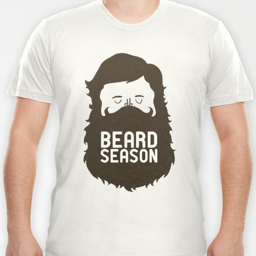 Camiseta Beard Season | Hipster