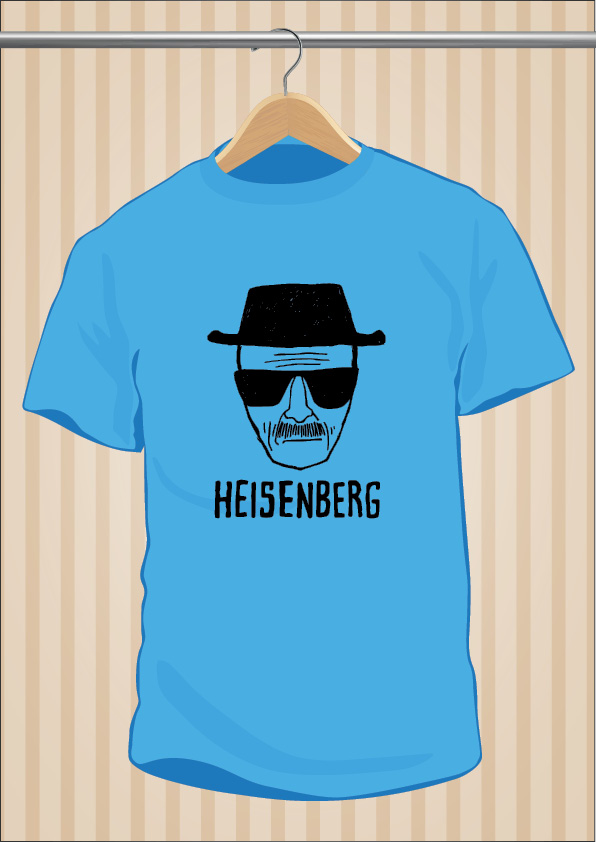 Camiseta Heisenberg | Breaking Bad Blue Meth | UppStudio