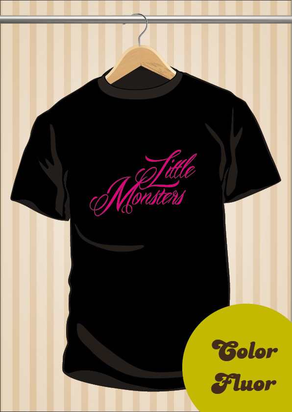Camiseta Lady Gaga Little Monsters | UppStudio