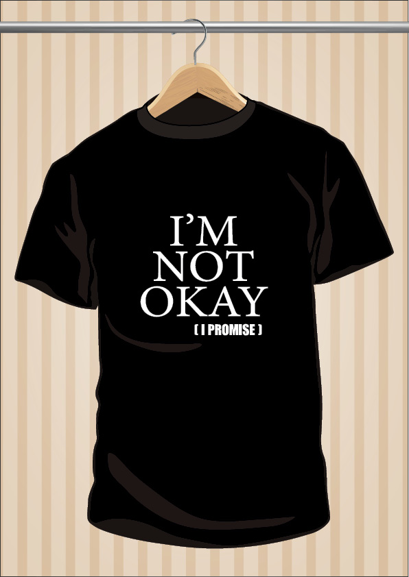 Camiseta My Chemical Romance I'm Not Okay I Promise MCR UppStudio