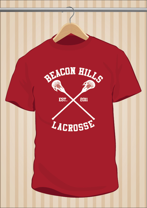 Camiseta Teen Wolf Beacon Hills Lacrosse | UppStudio