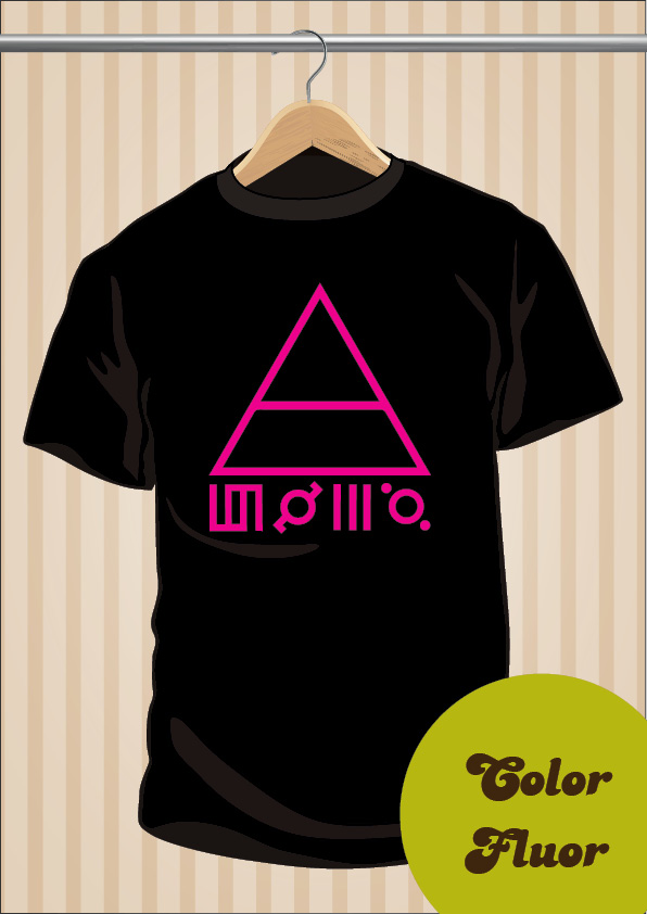 Camiseta 30 Seconds To Mars 30STM Símbolos | UppStudio