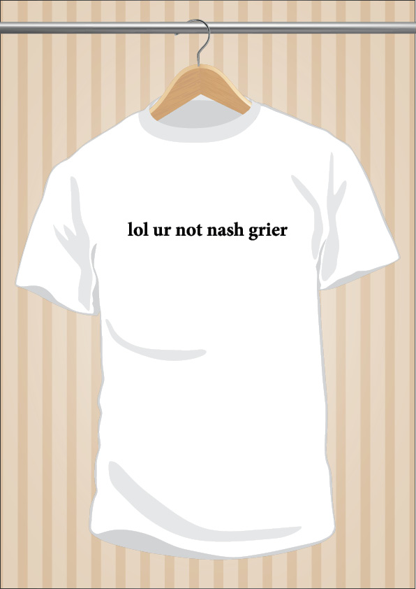 Camiseta lol ur not nash grier t-shirt tee